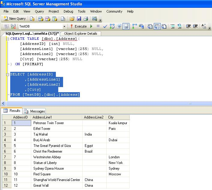 SQL Server Performance Working with Spatial Data Part I